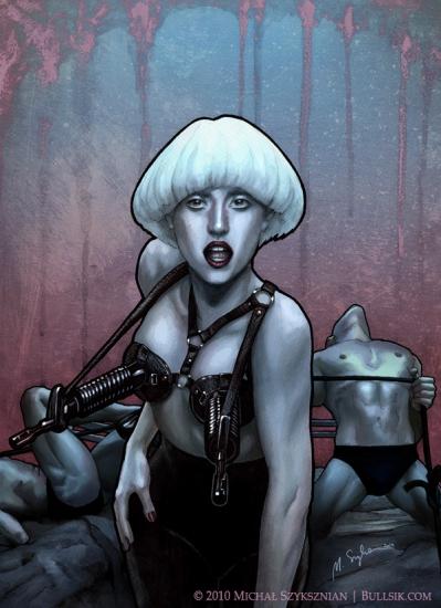 Lady Gaga por Bullsik